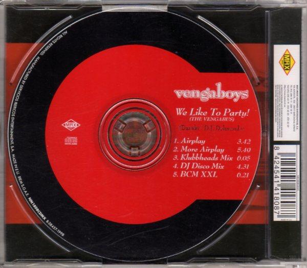 vengaboys we like to party the vengabus cdm. Black Bedroom Furniture Sets. Home Design Ideas