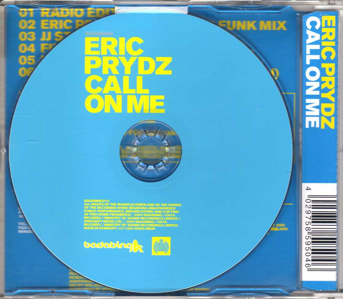 eric prydz call on me hd