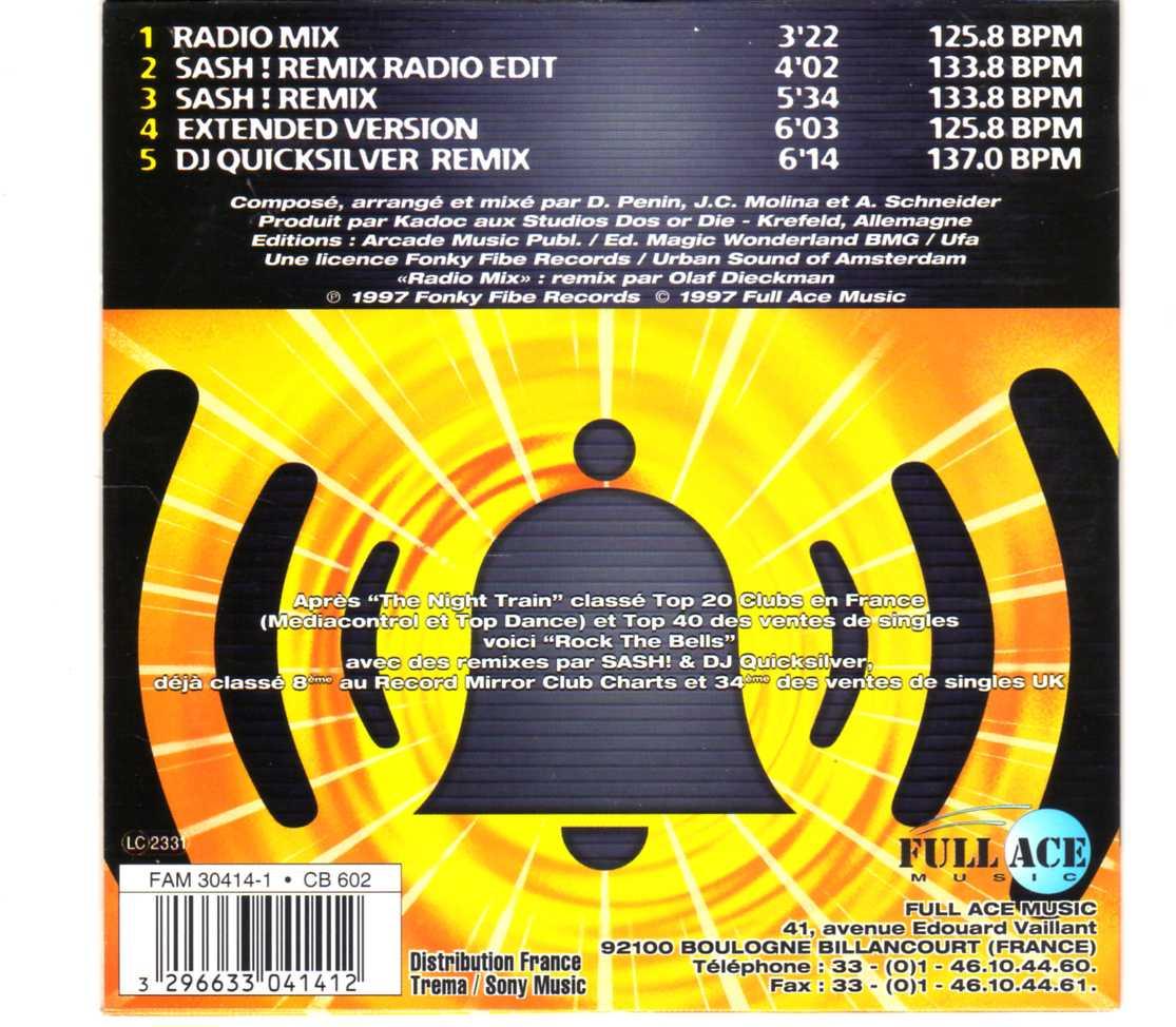 Kadoc – Rock The Bells – CDS