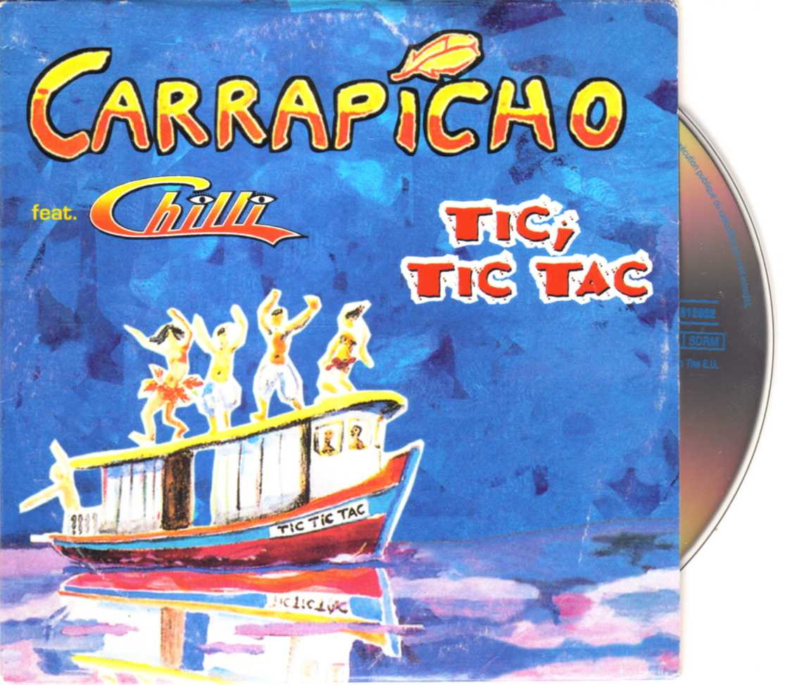 Carrapicho feat. Chilli – Tic, Tic Tac – CDS | Eurodance 90 CD shop